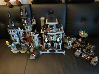 Lego Monster 10228, 9461, 9462, 9463, 9464, 9465, 9466, 9367, 9468 Ghostbusters