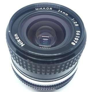 Nikon Nikkor 24mm f2.8 Ai