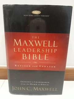 The Maxwell Leadership Bible - revised & updated version by John C. Maxwell