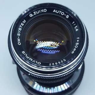 Olympus OM Zuiko 50mm f1.4