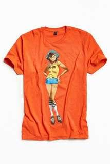 Urban Outfitters Gorillaz Noodle shirt
