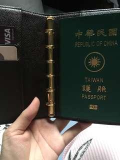 🚚 LV筆記本 護照雙用夾