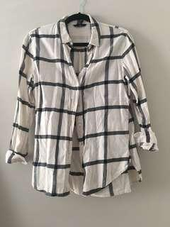 Soft plaid H&M shirt