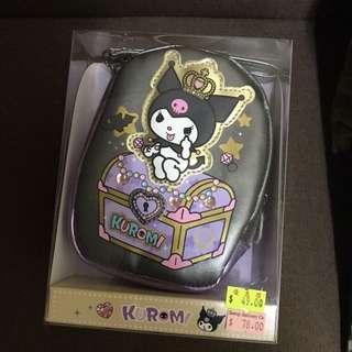 全新Kuromi/邪惡My Melody化妝袋/雜物袋 (Sanrio 原裝正版) Cosmetic Bag 最後4個!