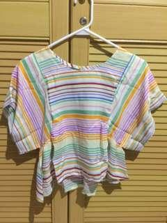 Summer Crop Rainbow Top