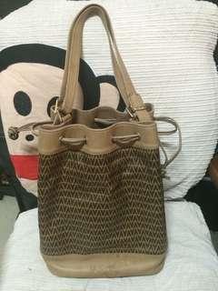 Mario Valentino PVC Leather Vintage Shoulder Bag