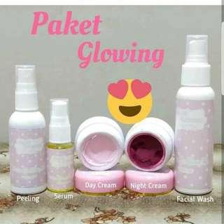 Glow glowing solution