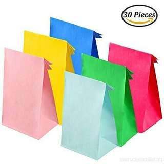 Goodie Bag • Coloured Paper Bag • Birthday Party • Baby Shower •
