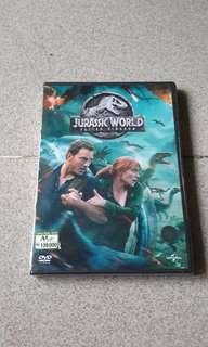 Dvd Jurassic World Fallen Kingdom.