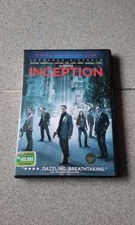Dvd Inception.
