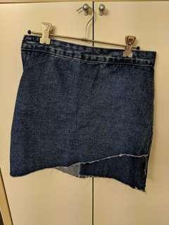 Atmos and Here Denim Skirt