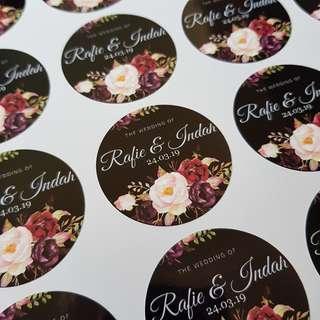 Customize sticker printing