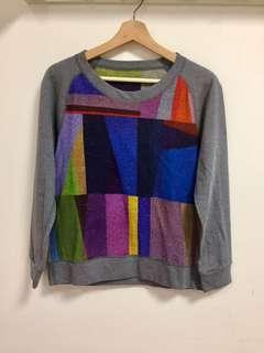 Sweater warna warni
