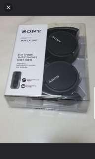 🚚 Sony Stereo Headphones MDR-ZX110AP / Hands-free Phone Calls / Compact Folding / BNIB