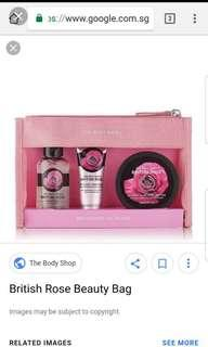 🚚 The Body Shop British Rose Collection / Brand New