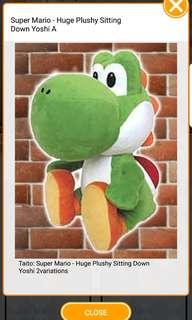 Yoshi Plush from Super Mario