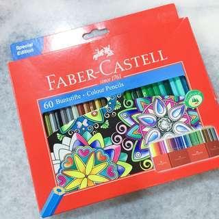 Faber Castell - 60 colour pencils