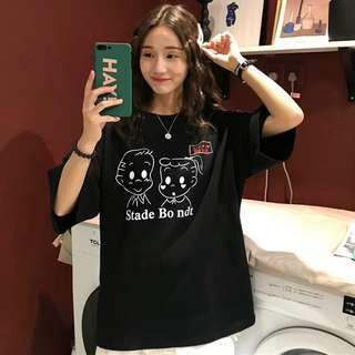 Korean Ullzang cute T-shirt