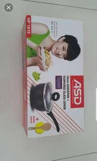 🚚 ASD 16cm Saucepan with tempered glass cover / Brand New