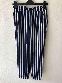 NEW ZARA Striped Trouser