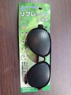 🚚 小洞眼鏡 視力保健 弱視訓練 貝茲法 愛眼操 放鬆運動