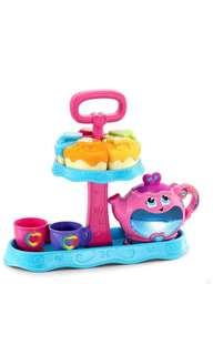 🚚 ~Ready Stocked~ LeapFrog New Musical Rainbow Tea Party (with Cake Stand)