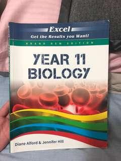 Year 11 Biology Excel book (new syllabus!!)
