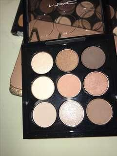 Mac Eyeshadow Pallets and Kit