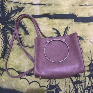 Tas selempang dusty Purple ring