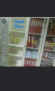 Books and file shelving 2 pieces