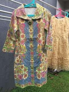 Dress Batik Murah Mewah Dobby