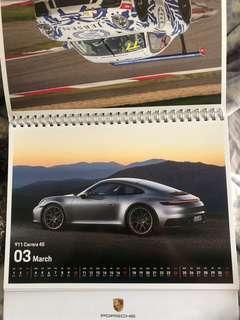 Porsche 2019 calendar
