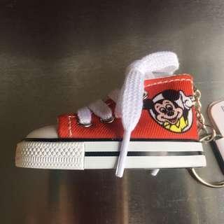 Disney Mickey Mouse 鞋仔匙扣 👟