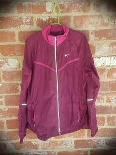 Nike Purple Running Jacket L Women Lightweight RRP $120 Free Post