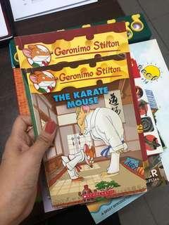 2x Geronimo Stilton Books