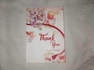 Novel Thank You - Adara Kirana