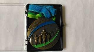 渣打馬拉松2013獎牌