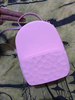 Backpack Miniso pink (preloved) masih bagus