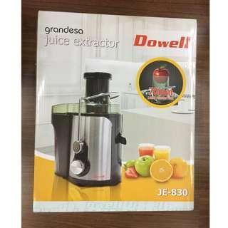 Dowell Grandeza Juice Extractor JE-830