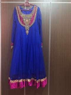 Anarkali bollywood dress
