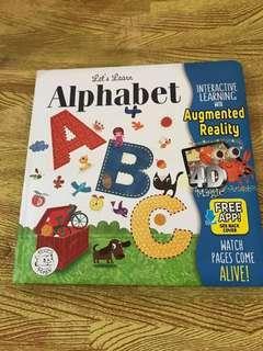Buku Ajaib. Augmented Reality Book. Alphabet.