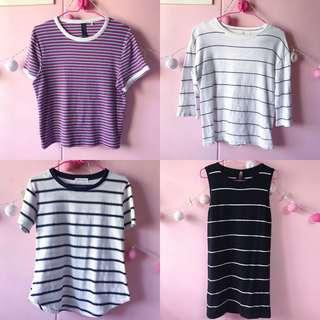 🚚 Striped Tees and Dress