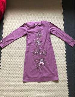 Baju Kurung Modern- Dusty Purple