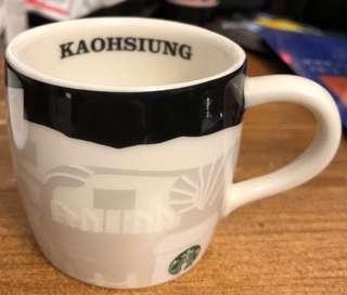 2隻 Starbucks 12oz 經典 咖啡杯 杯 (台灣高雄、墾丁版)