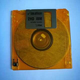 🚚 Floppy Disk 1.44mb 2HD IMB Formatted