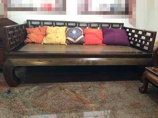 Classical Old Elm Daybed