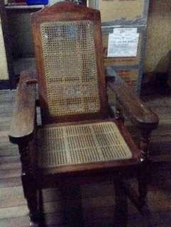 Antique NARRA butaka rocking chair