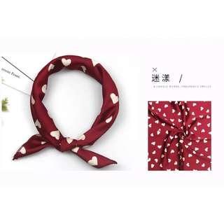 [New] Spring silk scarf / chic hairband