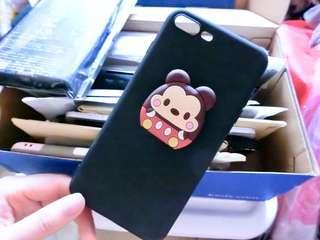 iPhone Case 7/8 Plus 手機殼 米奇 支架 包平郵