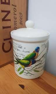 moving sales Australia rainbow lorrkee  ceremy seal jar